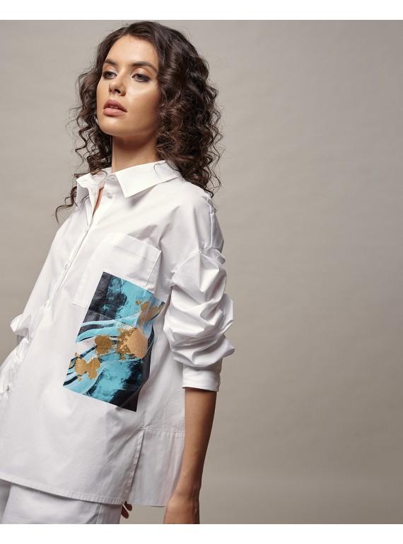 Блуза C155